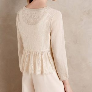 Anthropologie Knitted & Knotted Cardigan Large